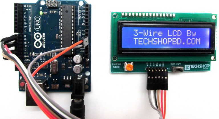 lcd connection with arduino