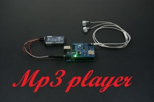 Mp3 player with arduino and music shield